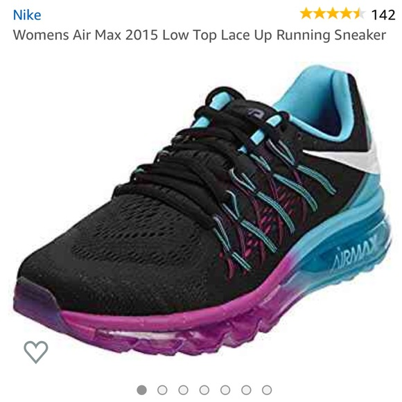 Nike Airmax Low Top Lace Up Running Sneaker 8.5